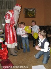 Заказ Деда Мороза Нижний Новгород